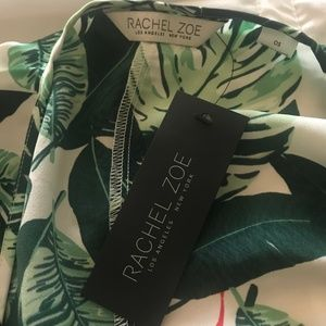 NEW Rachel Zoe Collection Palm Print Duster Kimono